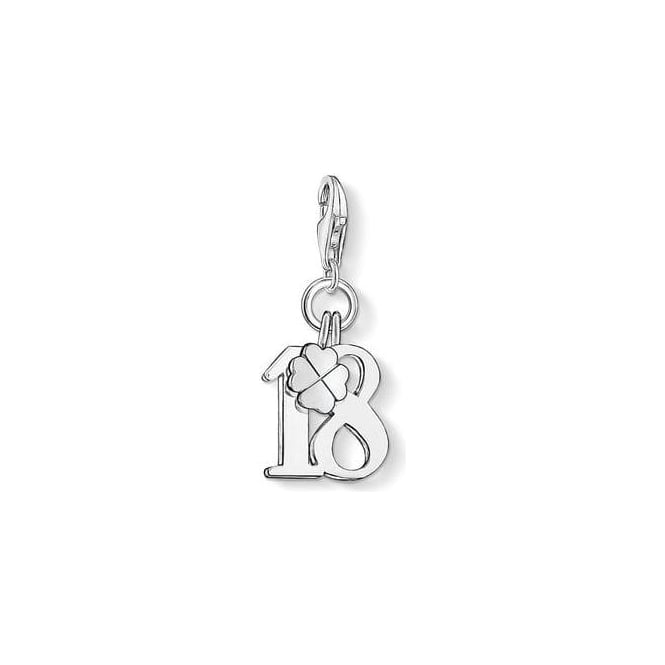 Thomas Sabo Charm Club Lucky Number 18