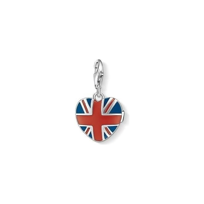 Thomas Sabo Charm Club Brit Heart Medallion - 1081