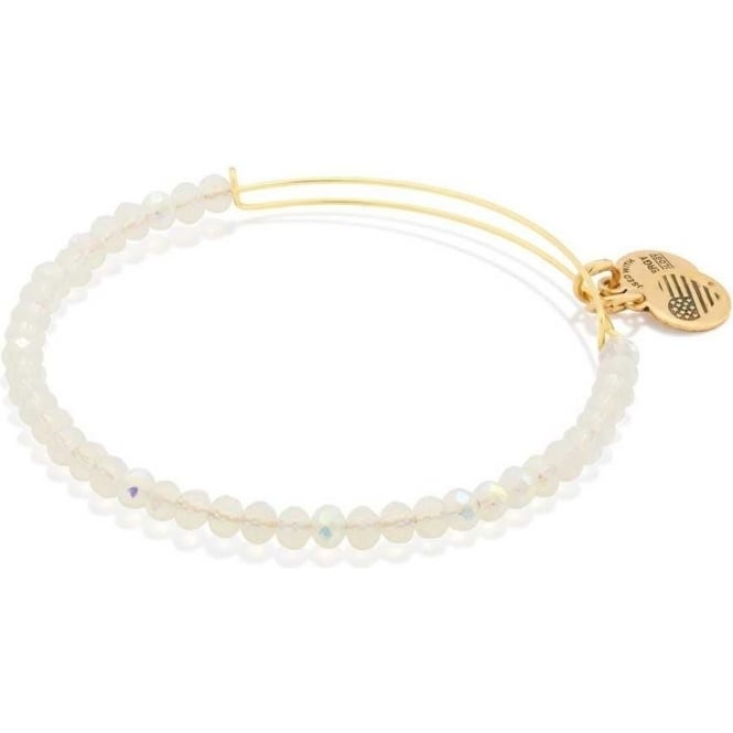 Alex And Ani Moonlight Brilliance Beaded Bangle