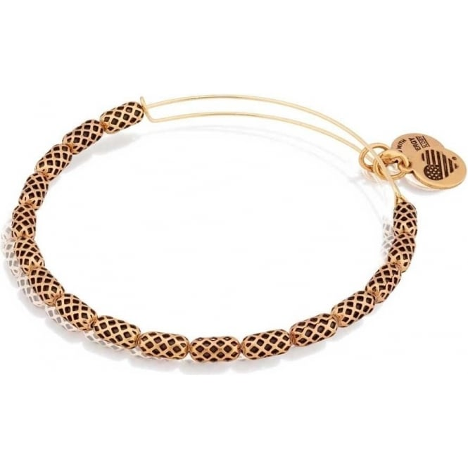 Alex And Ani Beehive Beaded Bangle