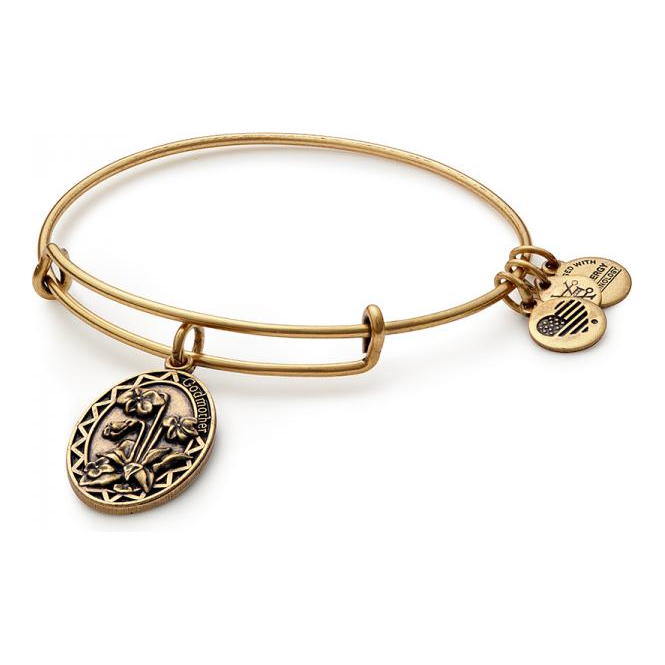 ani godmother finish bracelet and charm bangle gold rafaelian alex
