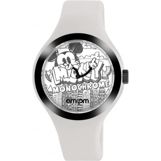 Disney 'Monochrome Mickey' Watch DP155-U343