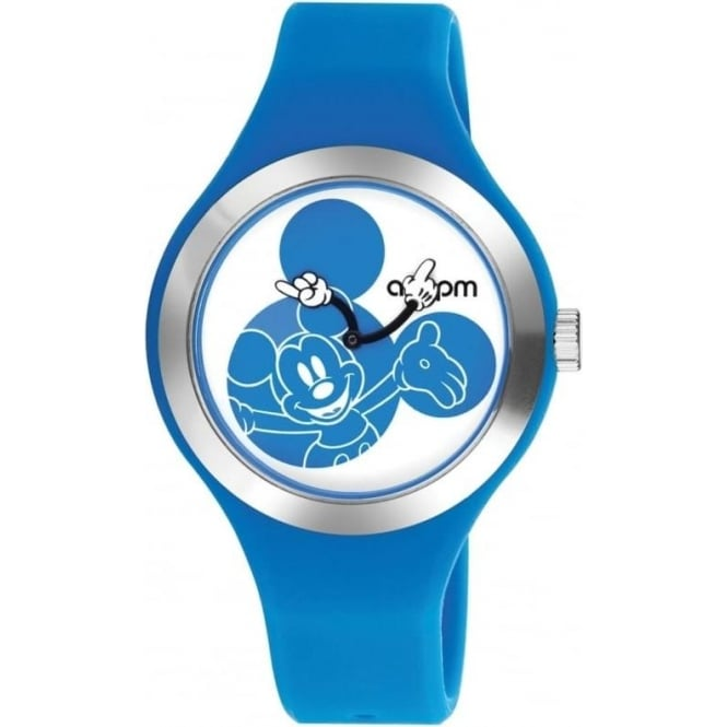 AM:PM Disney 'Blue Mickey' Watch DP155-U343