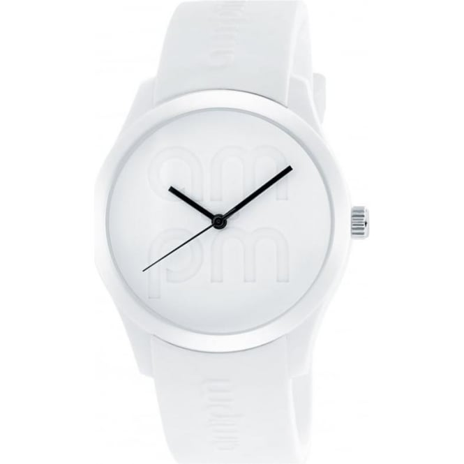 AM:PM White Club Watch