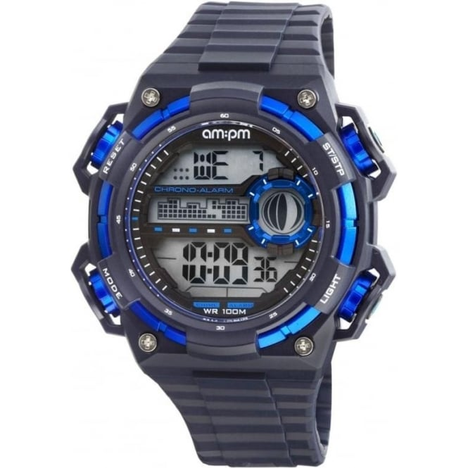 AM:PM Digital Watch
