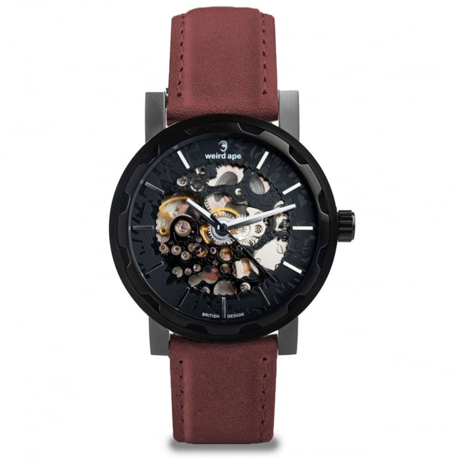 Weird Ape Kolt Black Red Watch WA02-005541
