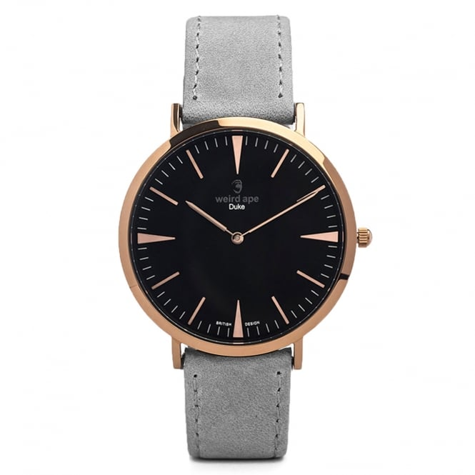 Weird Ape Duke Slate Grey & Rose Gold Watch WA02-005412