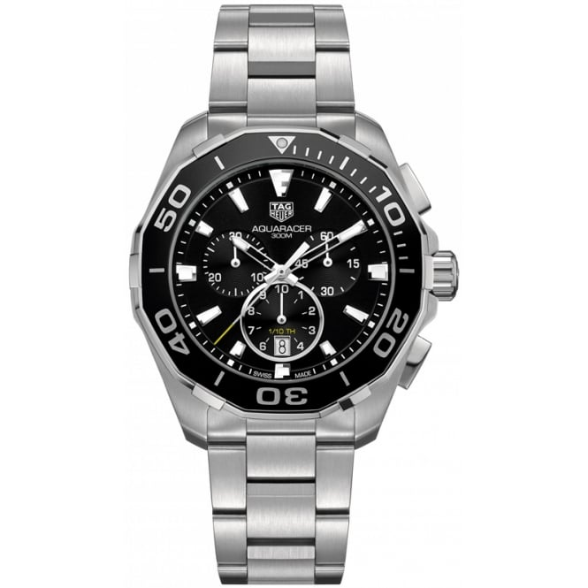 Tag Heuer Men's Stainless Steel Aquaracer Chronograph Watch CAY111A.BA0927