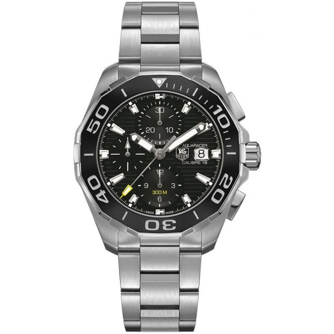 Tag Heuer Men's Stainless Steel Aquaracer Chronograph Watch CAY211A.BA0927