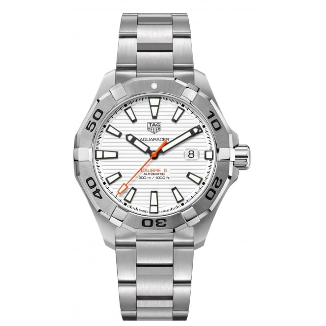 Tag Heuer Men's AQUARACER CALIBRE 5 WATCH. WAY2013.BA0927