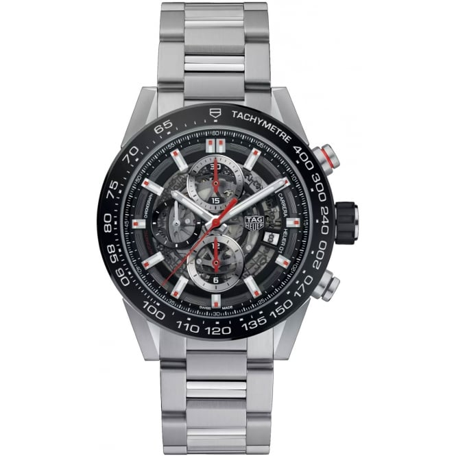 Tag Heuer Men's CARRERA CALIBRE HEUER 01 CAR201V.BA0714