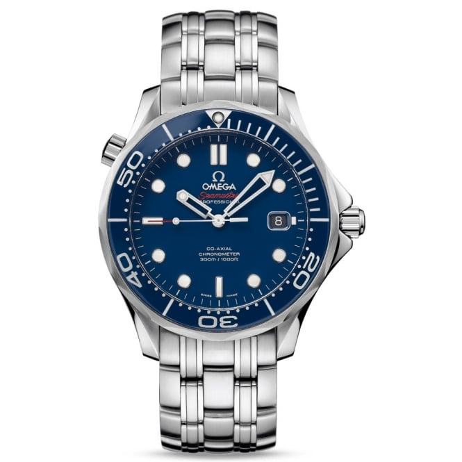 Omega Mens Seamaster Diver 300 Co-Axial Watch 212.30.41.20.03.001