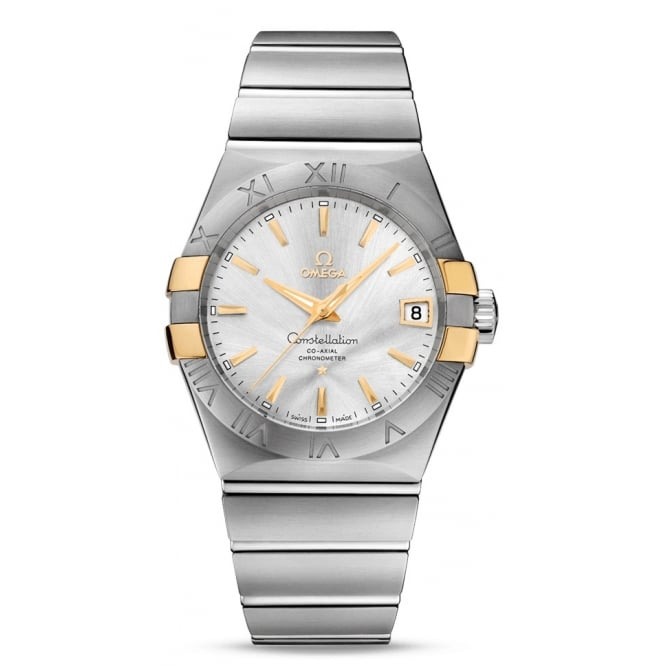 Omega Mens Constellation Watch 123.20.38.21.02.005