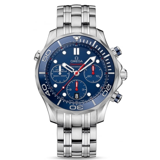 Omega Mens Seamaster Chronograph Watch 212.30.42.50.03.001