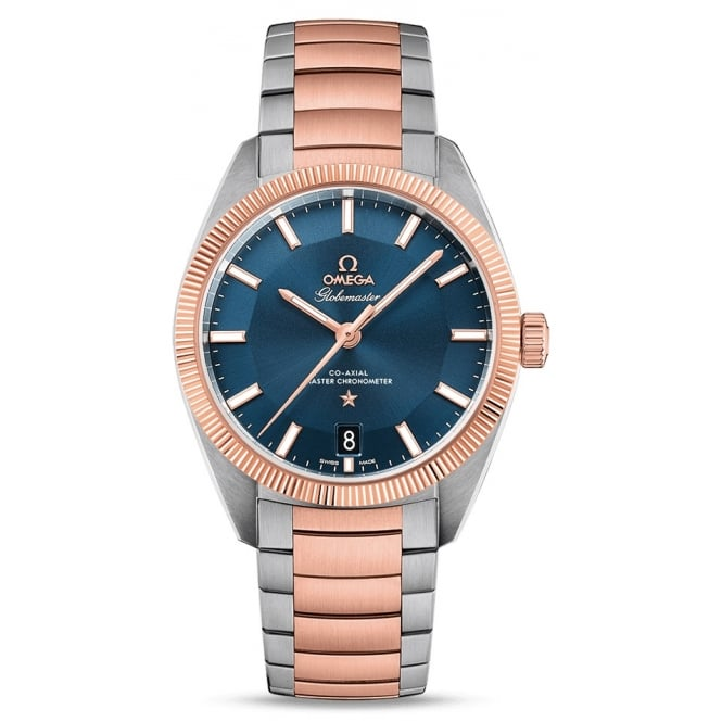 Omega Men's GLOBEMASTER OMEGA CO-AXIAL MASTER CHRONOMETER 39 MM 130.20.39.21.03.001