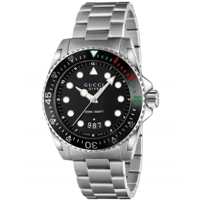 Gucci Timepieces Mens Dive Watch YA136208