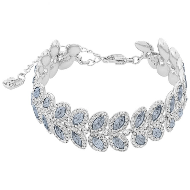 Swarovski LADIES BARON BRACELET, BLUE, RHODIUM PLATING. 5074352