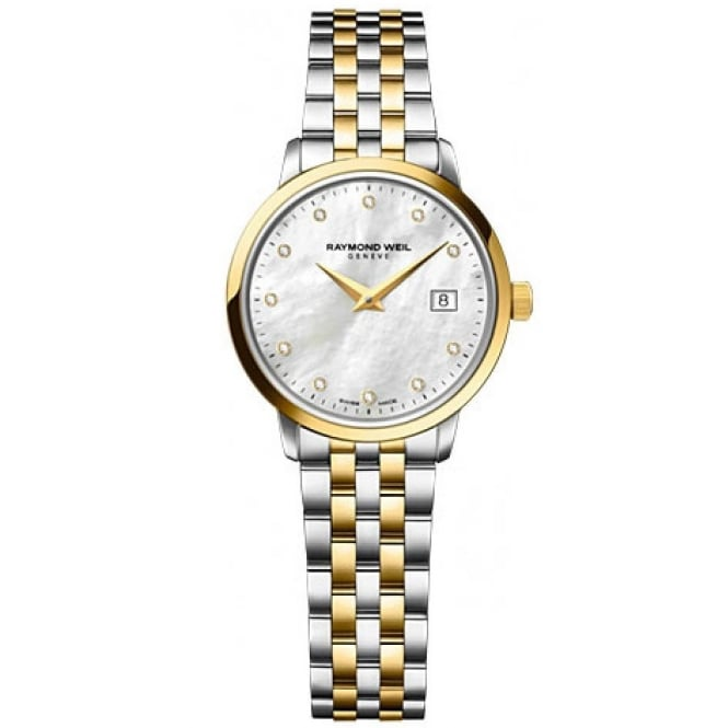 Raymond Weil Toccata Ladies Two Tone Watch - 5988-STP-97081