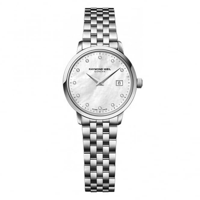 Raymond Weil Ladies Diamond Set Watch 5988-st-97081