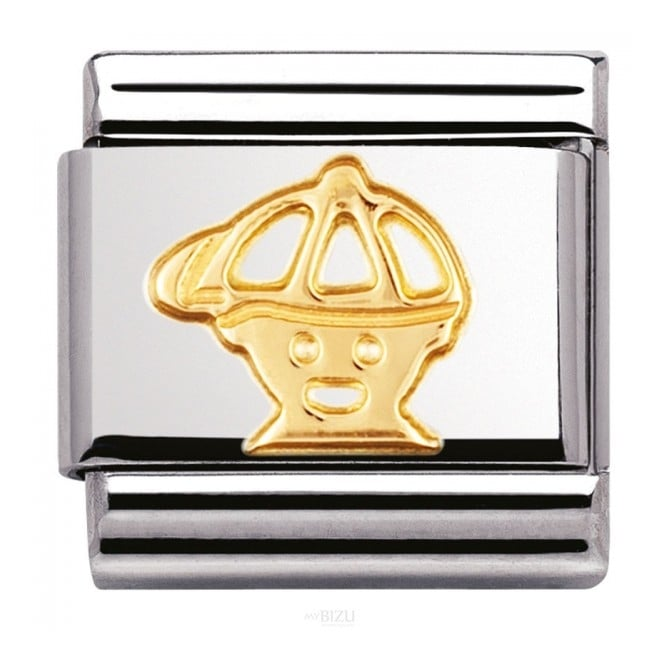 Nomination Classic Gold Boy Charm