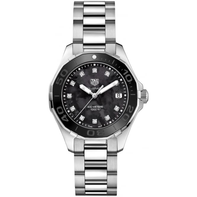 Tag Heuer Ladies Stainless Steel Aquaracer Watch. WAY131M.BA0748