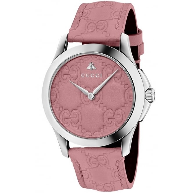 Gucci Timepieces Ladies G-Timeless Signature Watch. YA126578