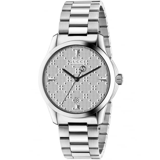Gucci Timepieces Unisex Stainless Steel G-Timeless Watch. YA1264024