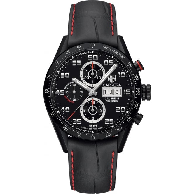 Tag Heuer Mens Carrera Calibre 16 Day-Date CV2A81.FC6237