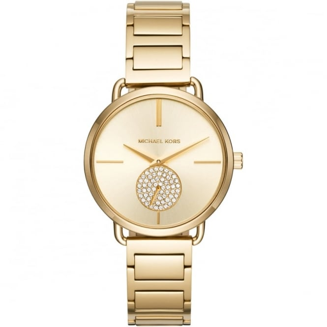 Michael Kors Ladies Gold Portia Watch MK3639