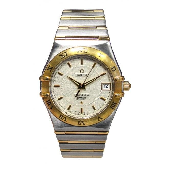 1c79c2397378d Pre-Owned Omega Men s Bi-Metal Constellation Watch - Pre-Owned Omega ...
