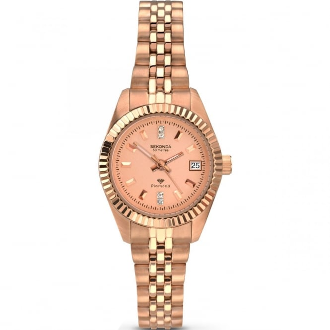 Sekonda Rose Gold Ladies Watch 2063