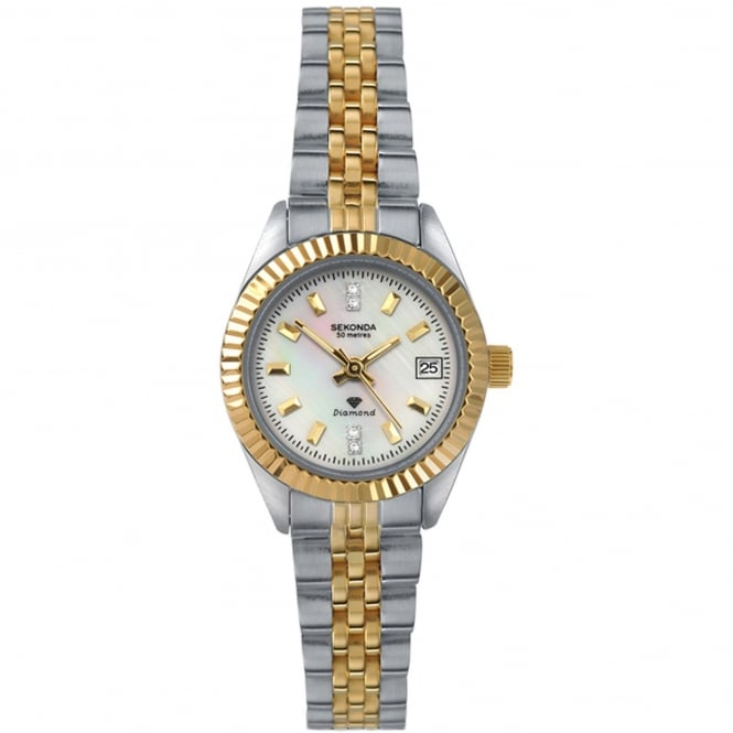 Sekonda Ladies Diamond Watch