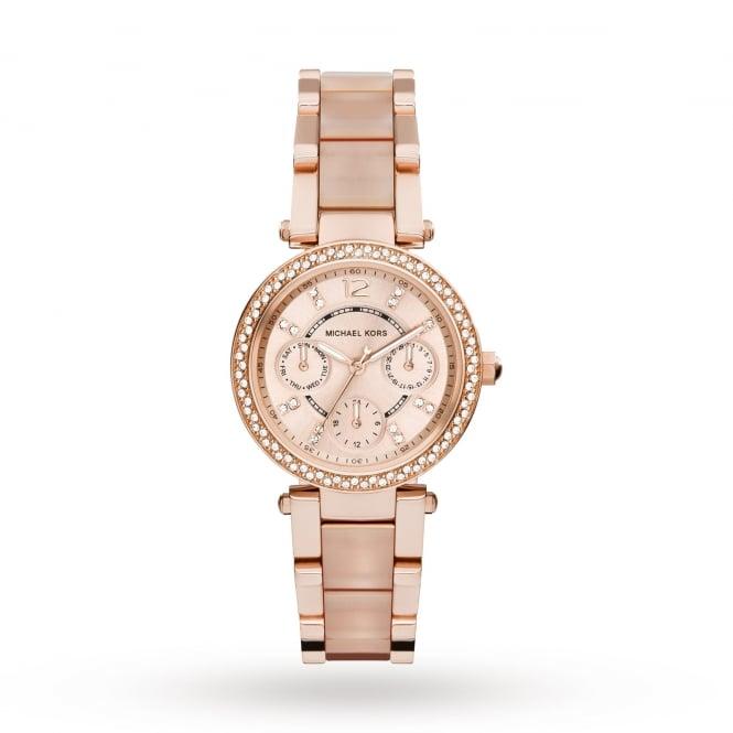 20a062abd7c8 Michael Kors Ladies Parker Ceramic Watch MK6110 - Michael Kors from ...