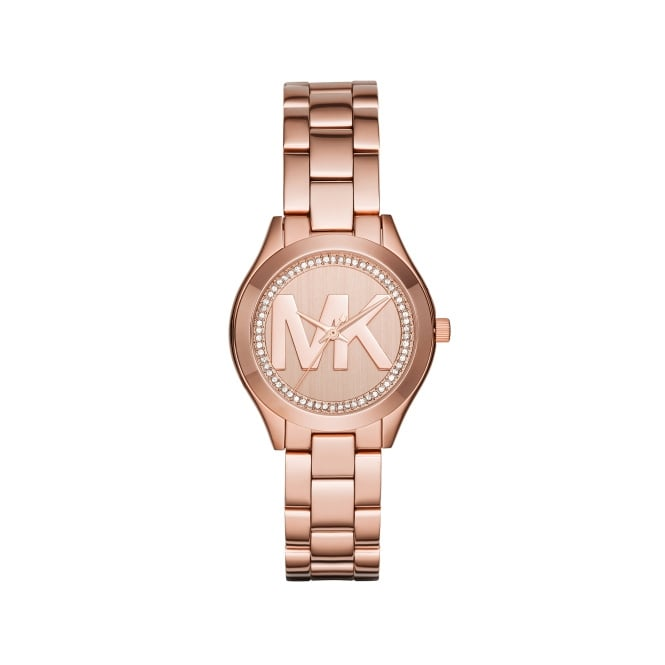 Michael Kors Ladies Mini Slim Runway Watch MK3549