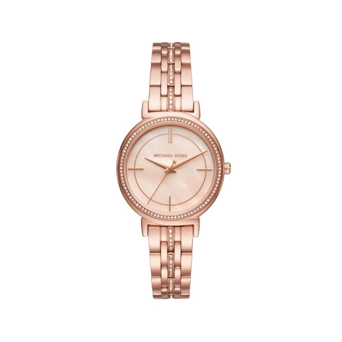 Michael Kors Rose Gold Cinthia Watch MK3643