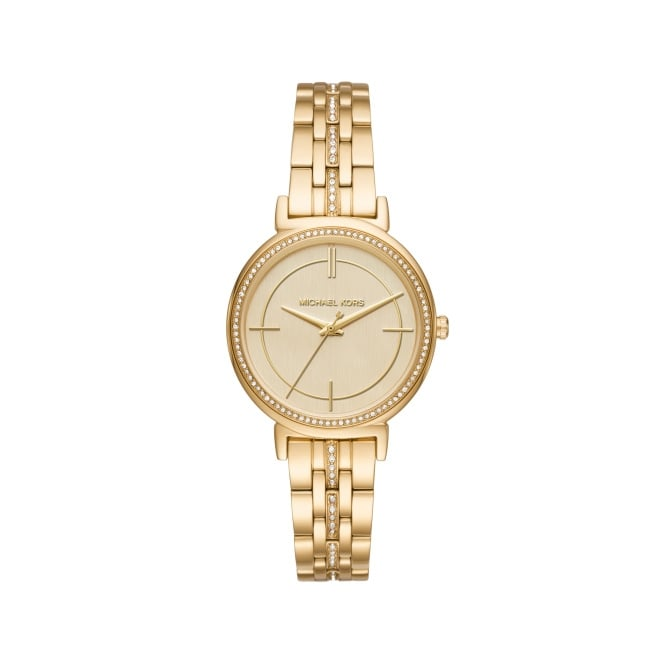 Michael Kors Ladies Gold Cinthia Watch MK3681