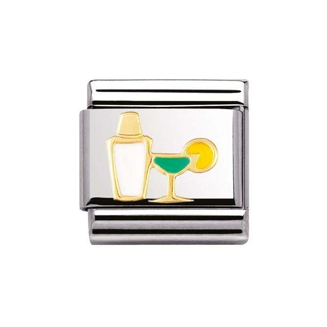 Nomination Classic Gold Cocktail Charm - 03021802