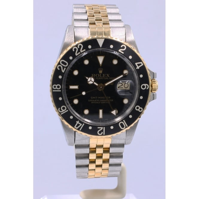 Pre-Owned Rolex Men's Bi-Metal GMT Master
