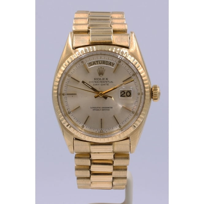 Pre-Owned Rolex Men's 18ct Yellow Gold Day-Date Watch. 1803