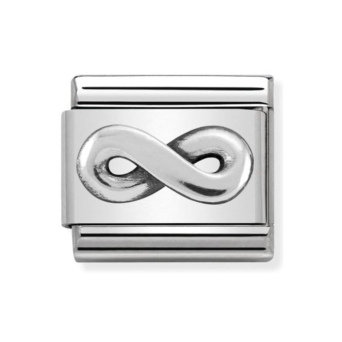 Nomination Classic Silver Infinity Charm 330101/21