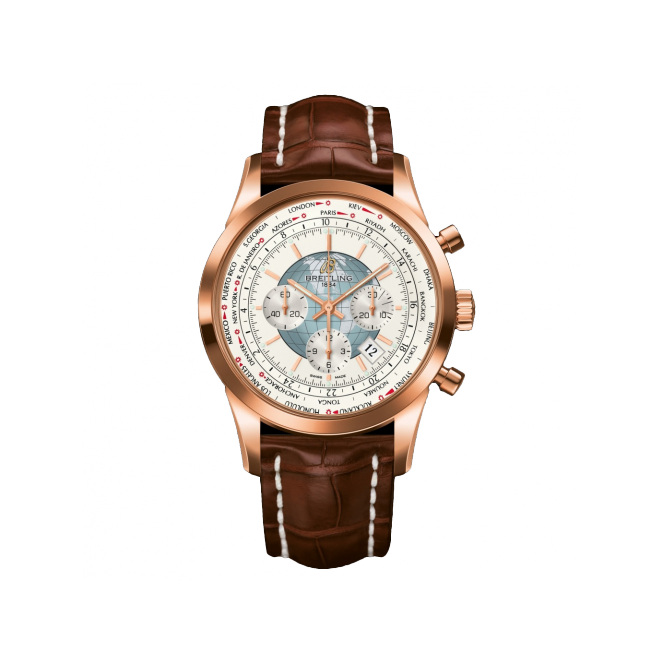 Breitling Transocean Chronograph 18ct Rose Gold RB0510U0/A733/754P/R20BA.1