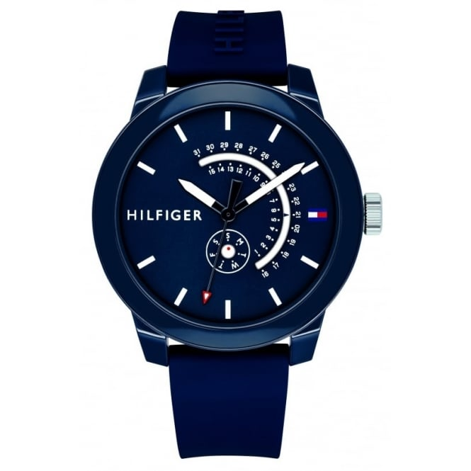 Tommy Hilfiger Men's Denim Watch. 1791482