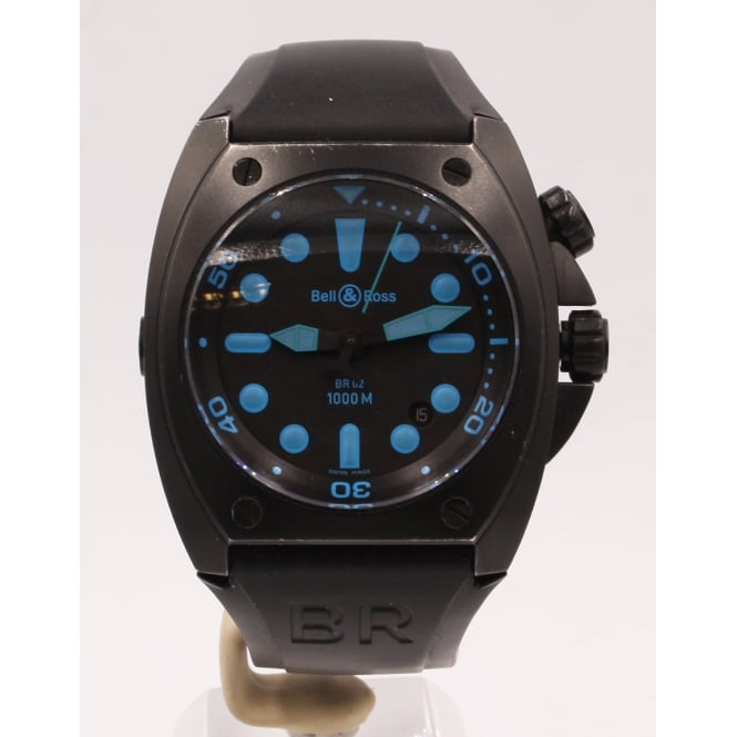 Pre Owned Bell & Ross Men's Marine Br02 Watch