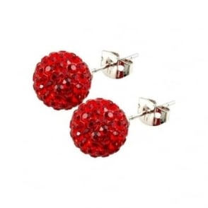 Tresor Paris Saint Remy' Red Crystal Earring - 016075