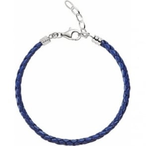 Chamilia Blue Leather Bracelet 1030-0111
