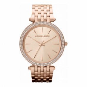 Michael Kors Ladies Rose Gold Darci Watch MK3192
