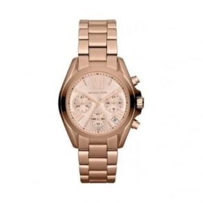 Michael Kors Ladies Bradshaw Mini Chronograph Watch - MK5799