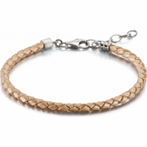 Chamilia Blush Metallic Leather Bracelet - 1030-0116