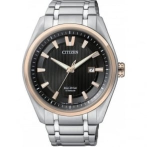 Citizen Mens Eco-Drive Sports Watch AW1247-58E