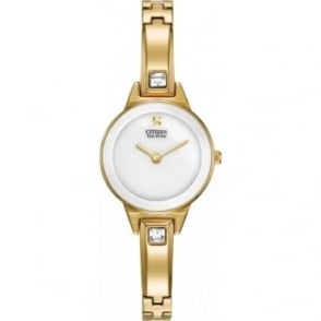Citizen Ladies Silhouette Bangle Watch EX1322-59A